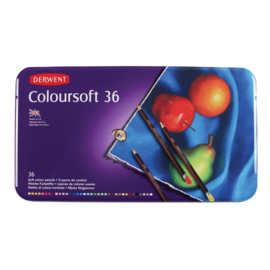 CE325006/0036- Derwent coloursoft pencil 36st blik