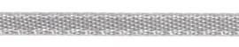 006302 162- 5 meter satijnlint van 6mm breed licht grijs