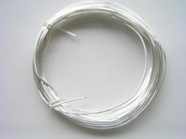 0.80mm dik zilverdraad 6 meter verzilverd - 116110/0008