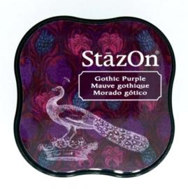 CE132021/4013- Stazon inktkussen midi gothic purple SZ-MID-13