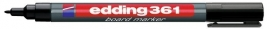 CE390361/0001- Edding-361 boardmarker met punt van 1mm zwart