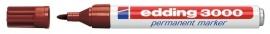 CE393000/0007- Edding-3000 permanent marker met punt van 1.5-3mm bruin