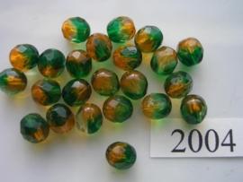 20 stuks 8 mm geslepen 2004
