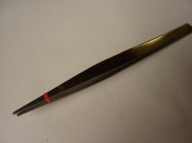 CH.P001- fijn puntig pincet van 12.5cm - SUPERLAGE PRIJS!