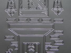 281- deuren zilver 10x20cm