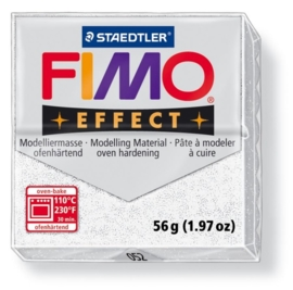 CE610303/1052- fimo effect 56gr glitter wit -052