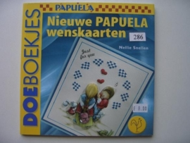 286- nieuwe pauela wenskaarten OPRUIMING BOEKJE