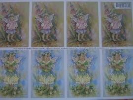 kn/130- A4 knipvel AANBIEDING fairy poppets 11