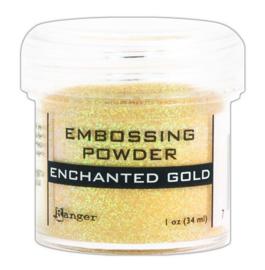 CE306320/7491- Ranger embossing powder 34ml - enchanted gold