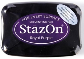 CE132005/6101- Stazon inktkussen SZ-000-101 royal purple