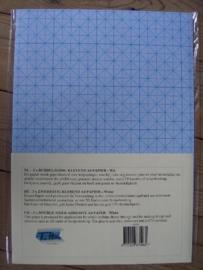 LY/401- 3 x A4 vellen dubbelzijdig plakfolie wit