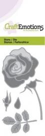 CE115633/0166- Craft Emotions Die 5x10cm roos