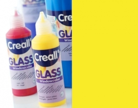 CE301800/0581- Creall Glass - glasstickerverf - window color - 80ML neon geel