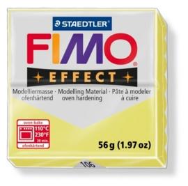 CE610303/0106- fimo effect 56gr gemstone lemon groen -106