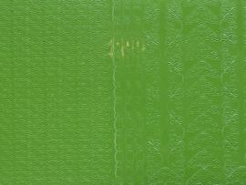 st795- stickervel randjes en hoekjes licht groen