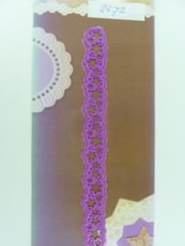 0002572- Joy Crafts stencil nr. 0007 - randje met sterren 14x1.4cm OPRUIMING