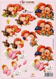 kn/321- A4 knipvel Art Coupure 117145/4018
