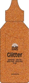118576/0012- Kars strooi glitter extra fijn 12gram licht bruin