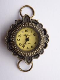 CH.001.10AB- horloge uurwerk van 26x30mm - SUPERLAGE PRIJS!
