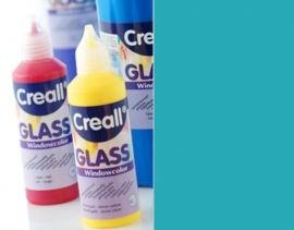 CE301800/0533- Creall Glass - glasstickerverf - window color - 80ML turquoise