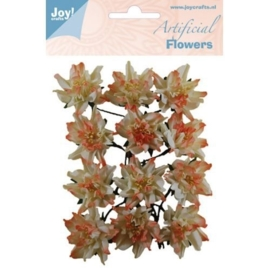 JOY6370/0069- 12 stuks artificial decoration flowers