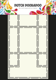CE185071/3316- Dutch Doobadoo Dutch card art stencil trifold A4