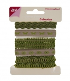 JOY6300/0343- 5x90cm Joy! crafts ribbons forest friend collection 2 - set 4