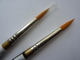 PS108- nylon penseel gold sable -8-