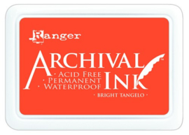 CE306010/2487- Ranger archival ink pad - bright tangelo