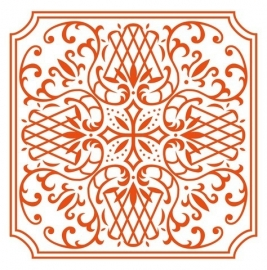 CE115639/3426- Marianne Design embossingfolder Anja's square