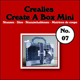 CE115634/1907- Crealies create a box no.07 koffer 115x109mm