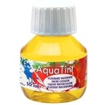 CE303500/5035- Collall AquaTint vloeibare waterverf 50ml pastelgeel