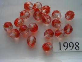 20 stuks 8 mm geslepen 1998