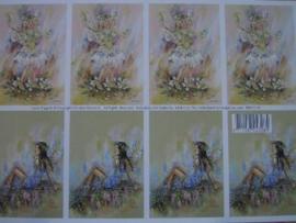 kn/127- A4 knipvel AANBIEDING fairy poppets 19