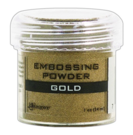 CE306300/7354- Ranger embossing powder 34ml - gold