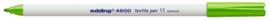 CE394600/0011- edding-4600 textielpen 1mm lichtgroen