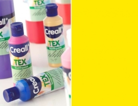 CE301900/0701- Creall Tex textielverf 80ML lichtgeel