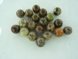 3704- 20 stuks Ocean Jasper mineraal kralen 10mm gemstone