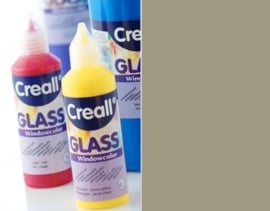 CE301800/0563- Creall Glass - glasstickerverf - window color - 80ML grijs