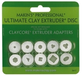 1866 1077- Makin`s clay kleipistool diskset setC 35156