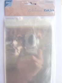 8001/0300- 30 x kaartenzakjes met plakstrip 12x16.5cm (voor standaard formaat kaarten)