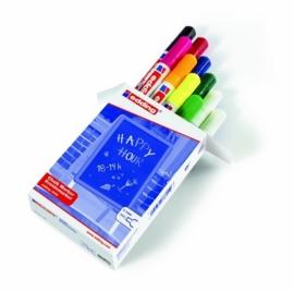 CE394095/5099- 10 stuks Edding-4095 chalk markers 2-3mm