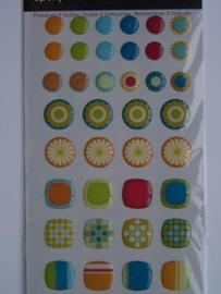 5335- SEI epoxy essentials 3D stickers