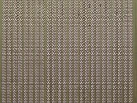 st 418- smalle ketting randje goud 10x20cm