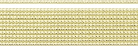 KN218307174- 8 stuks kaarsenwas versierstrips 0.3x20cm goudkleur