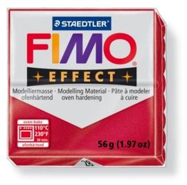 CE610303/2028- fimo effect 56gr metallic robijn -28