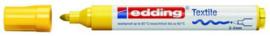 CE394500/0005- edding-4500 textielmarker 2-3mm punt geel