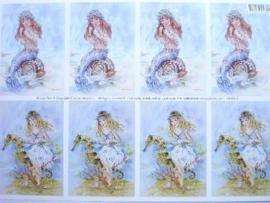 kn/511- A4 knipvel AANBIEDING fairy poppets 85/1