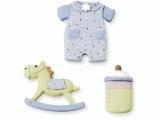 6930 198- 3-delig baby decoratie setje baby boy