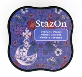 CE132021/4012- Stazon inktkussen midi vibrant violet SZ-MID-12